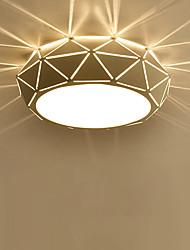 cheap -1-Light 23 cm Bulb Included Flush Mount Lights Metal Painted Finishes LED / Chic & Modern 110-120V / 220-240V