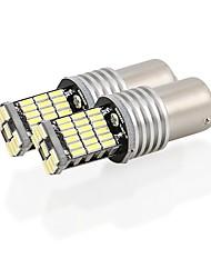 Недорогие -2pcs 1156 Автомобиль Лампы 9W SMD 4014 900lm 45 Фары дневного света For Audi A3 / A4 / A6 Все года