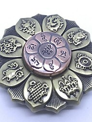 cheap -Fidget Spinner Hand Spinner Spinning Top High Speed Stress and Anxiety Relief Focus Toy Novelty Ring Spinner Gear Spinner Zinc Alloy Alloy Kid's Teen Adults' Boys' Toy Gift
