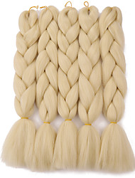 cheap -Crochet Jumbo 100% kanekalon hair Kanekalon Braids Long Braiding Hair 1 pc/pack