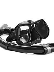Недорогие -YON SUB Наборы для снорклинга Дайвинг Пакеты Защитный Плавание Дайвинг Силикон Стекло Эко PC  Для Взрослые