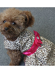 cheap -Dog Dress Dog Clothes Costume Polyester Stripes Casual / Daily XS S M L XL XXL