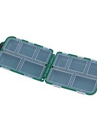 Недорогие -Коробка для рыболовной снасти Коробка для рыболовной снасти Водонепроницаемый пластик 9.5 cm*6 см*3 cm