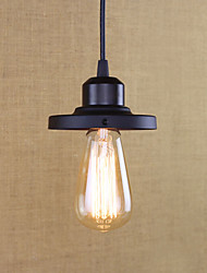 cheap -1-Light 11.5 cm Mini Style / Bulb Included / Designers Pendant Light Metal Mini Painted Finishes Retro