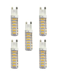 cheap -5pcs 4.5 W LED Bi-pin Lights 360 lm G9 T 76 LED Beads SMD 2835 Warm White White 220-240 V / RoHS