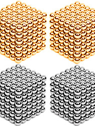 cheap -216*4 pcs 3mm Magnet Toy Magnetic Balls Building Blocks Super Strong Rare-Earth Magnets Neodymium Magnet Puzzle Cube Metalic Contemporary Classic & Timeless Chic & Modern Stress and Anxiety Relief