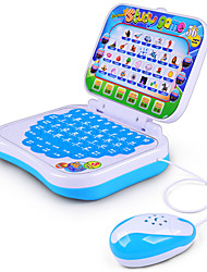 cheap -Educational Toy Toy Computer Laptop Smart intelligent Music & Light with Bilingual Story Song Novelty with Screen Kid's Boys' Girls' Toy Gift