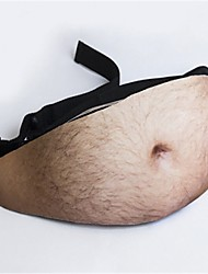 cheap -Halloween Props Dad Bod Waist Bag Movie Cosplay More Accessories Christmas Halloween Carnival Polyster