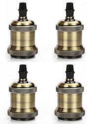 Недорогие -4 шт. E26 / e27 винт с цоколем лампочки Эдисон ретро подвесной светильник без шнура и выключателя