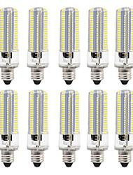 cheap -10pcs 8 W LED Corn Lights 700 lm E12 E12 / E14 E17 152 LED Beads SMD 3014 Dimmable Warm White White 220 V 110 V