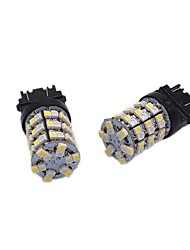 cheap -2pcs T20 / 1157 / 3157 Car Light Bulbs 24W SMD 1012 2400lm 120 Turn Signal Light For universal All years