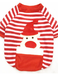 cheap -Dog Sweatshirt Dog Clothes Reindeer Red Terylene Costume For Spring &  Fall Winter Christmas