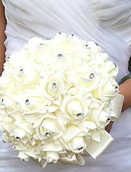 "cheap -Wedding Flowers Bouquets Wedding Polyester / Foam 9.84""(Approx.25cm)"