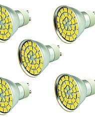cheap -5pcs 5 W LED Spotlight 800 lm 55 LED Beads SMD 5730 Decorative Warm White Cold White 12 V