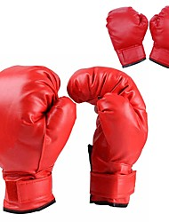 cheap -Boxing Training Gloves For Boxing Full Finger Gloves Protective Durable Leather Kid's