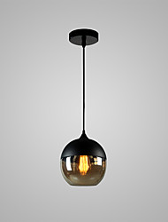 cheap -1-Light 20 cm Bulb Included / Adjustable / Designers Pendant Light Glass Glass Globe Painted Finishes Chic & Modern 110-120V / 220-240V