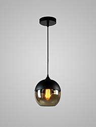 cheap -Globe Pendant Light Ambient Light Painted Finishes Glass Glass Bulb Included, Adjustable, Designers 110-120V / 220-240V / E26 / E27