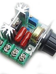 abordables -contrôleur de commande de vitesse du moteur pwm ac 2000w régulation de tension réglable