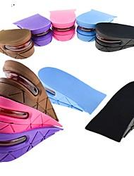 cheap -2pcs Fitness, Running & Yoga Insole & Inserts PVC Heel All Seasons Women's Purple Brown Blue Pink Leopard