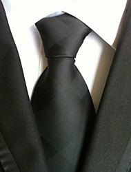 cheap -Men's Work / Basic Necktie - Solid Colored