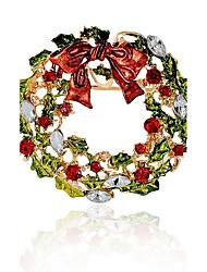 Недорогие -Синтетический алмаз Броши Брошь Бижутерия Разные цвета Назначение Рождество Подарок