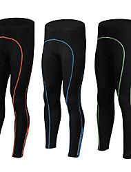 cheap -Realtoo Men's Cycling Tights Bike Tights Pants Bottoms UV Resistant 3D Pad Quick Dry Sports Polyester Black / Green / Black / Blue / Black / Orange Clothing Apparel Bike Wear / Stretchy