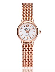 cheap -Women's Bracelet Watch Quartz Metal Silver / Rose Gold Analog Ladies Casual Elegant - Silver Rose Gold