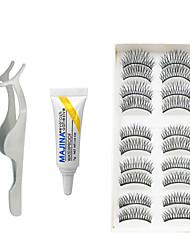 cheap -Eyelash Extensions Eyelash Glue False Eyelashes Volumized Extra Long Fiber Daily Full Strip Lashes Crisscross - Makeup Daily Makeup Party Makeup Cosmetic Grooming Supplies