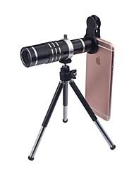 cheap -Mobile Phone Lens Wide-Angle Lens / Macro Lens / Telephoto Lens Glass 18X Macro iPhone / Samsung / HUAWEI