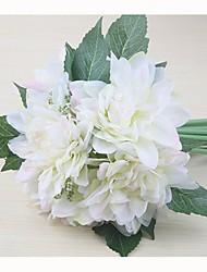"""Недорогие -Свадебные цветы Букеты Свадьба / Особые случаи Шелк 7,87""""(около 20см)"""