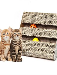 cheap -Interactive Cat Cat Toy Scratch Pad Paper Gift Pet Toy Pet Play