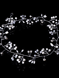 cheap -Crystal / Imitation Pearl Headbands / Head Chain / Hair Tool with 1 Wedding / Party / Evening Headpiece