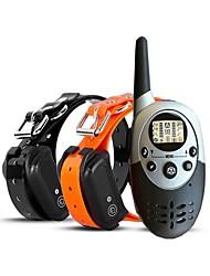 cheap -Dog Dog Training Collars Adjustable Waterproof Wireless Rechargeable Shock / Vibration Classic TPU Orange Black