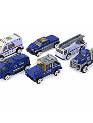 cheap -1:64 Police car Toy Truck Construction Vehicle Toy Car Kid's Car Toys
