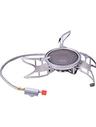 cheap -Stove Single Stainless Steel Aluminium alloy for Outdoor Camping / Hiking Picnic BBQ