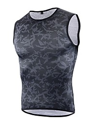 cheap -cheji® Men's Compression Tank Top Fashion Fitness Gym Workout Workout Compression Clothing Tank Top Plus Size Sleeveless Activewear Breathable Quick Dry Stretchy