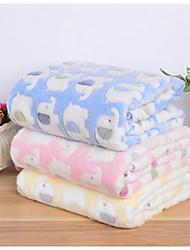 cheap -Dog Mattress Pad Bed Bed Blankets Blankets Fabric Cartoon Yellow Blue Pink
