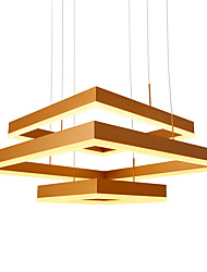 cheap -1-Light UMEI™ 80 cm Bulb Included / Adjustable / Dimmable Pendant Light Metal Linear Anodized Modern Contemporary 110-120V / 220-240V