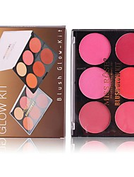 cheap -2 Colors Makeup Set Pressed powder Blush Dry / Matte Face China Makeup Cosmetic ABS
