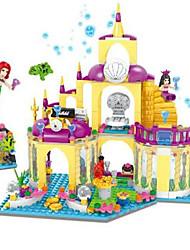 abordables -Blocs de Construction Château Maison Cheval Fun & Whimsical Unisexe Jouet Cadeau