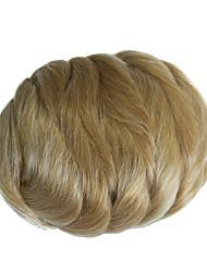 cheap -chignons Classic Hair Bun Synthetic Hair Hair Piece Hair Extension Classic Daily Light Blonde