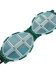 Недорогие -Коробка для рыболовной снасти Коробка для рыболовной снасти Водонепроницаемый пластик 11 cm*7 см*3.2 cm