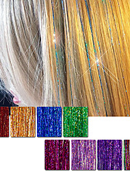 cheap -Human Hair Extensions Straight Classic Human Hair Hair Extension Cross Type Daily