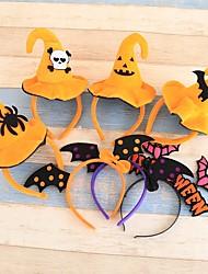 cheap -Halloween Hairbands Head Bands Pumpkin Witch Skull Headress