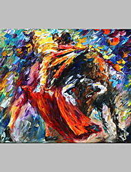 cheap -Hand-Painted Abstract Horizontal Panoramic,Artistic Outdoor One Panel Canvas Oil Painting For Home Decoration