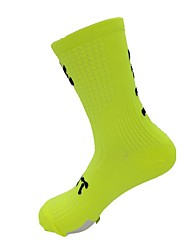 cheap -Compression Socks Athletic Sports Socks Football Socks 1 Pair Tube Socks Socks Quick Dry Breathability Stretchy Running Outdoor Sports Solid Colored Classic Cotton