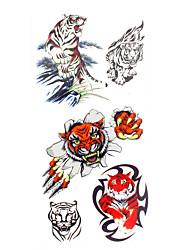 Недорогие -1 pcs Временные татуировки Водонепроницаемый руки / плечо / запястье Временные тату