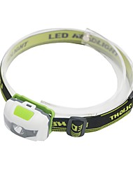 cheap -Headlamps LED 500 lm 3 Mode LED Lightweight Dust Proof Camping/Hiking/Caving Everyday Use Cycling/Bike Hunting