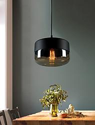 cheap -1-Light 24 cm Bulb Included / Adjustable / Designers Pendant Light Metal Glass Painted Finishes Chic & Modern 110-120V / 220-240V