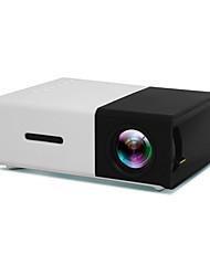 cheap -YG300 LCD Projector 400 lm Other Support / 1080P (1920x1080) / QVGA (320x240) / ±15°